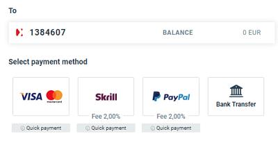 opiniones xtb metodos de pago