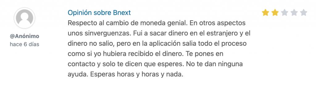 Trustu BNext Opiniones: qué es, cómo funciona y cuáles son las opiniones de la tarjeta BNext.